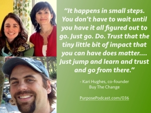 Kari Hughes Purpose Podcast quote